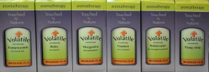 Volatile massage-olie
