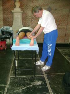 Massage marathon Leiden 2012